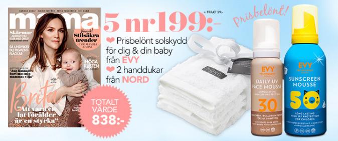 Babybox Annons: Mama tidningspremie SPF