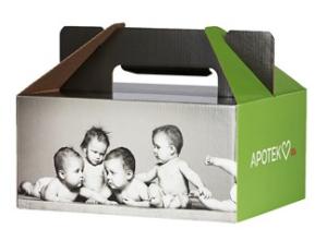 Gratis babybox från Apotek Hjärtat