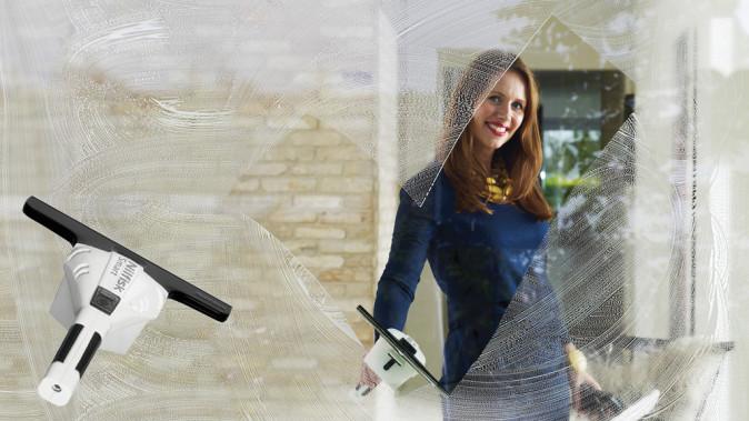 Smart fönstertvätt