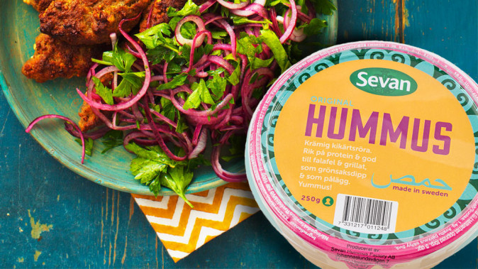 Gratis hummus