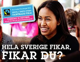 Gratis Fairtrade-fika