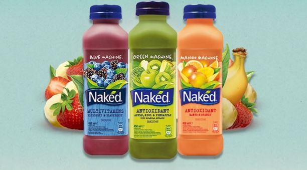 Naked juice blend, blue machine