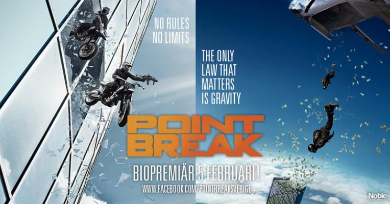 Gratis bio - Point Break