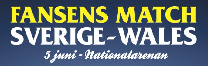 Gratis biljetter till Sverige-Wales match