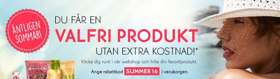 Yves Rocher-produkt gratis