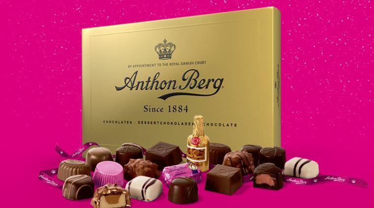 Gratis Anton Berg-choklad