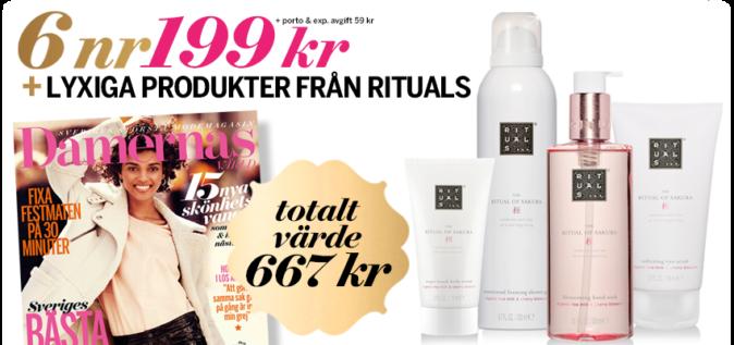 Rituals-produkter på köpet