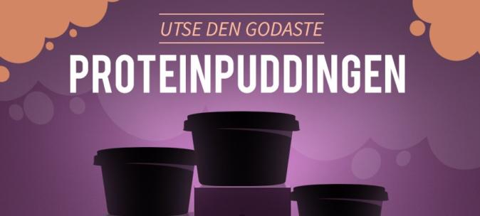 Gratis proteinpudding (testpilot)