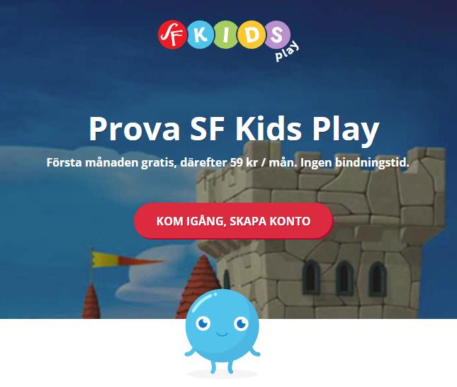 Gratis barnfilmer på SF Kids