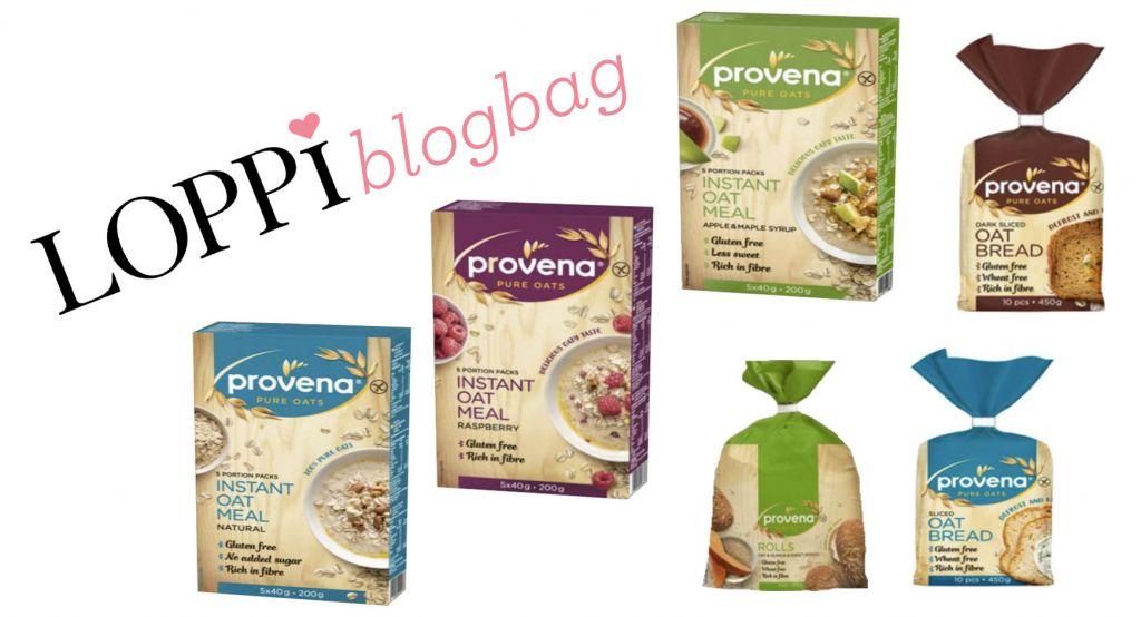 Gratis glutenfria Provena-produkter