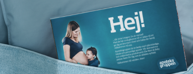 Gratis babybox från apoteksgruppen & babyproffsen
