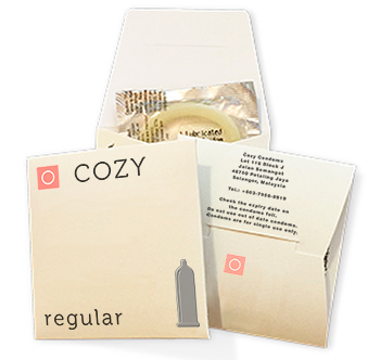 Gratis kondom via Cozy Condoms