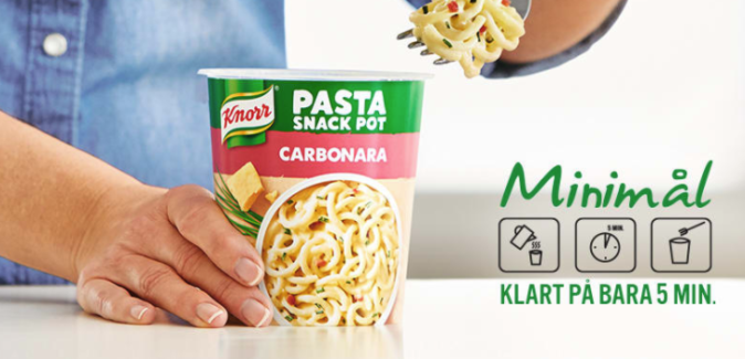 Gratis Knorr Snack Pot