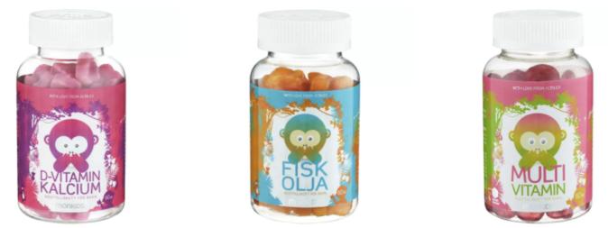 Gratis smakprov Acrilex vitaminer
