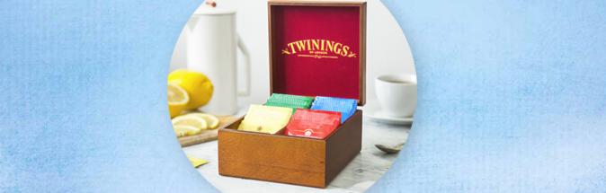 Gratis Twinings teskrin (samlarkampanj)