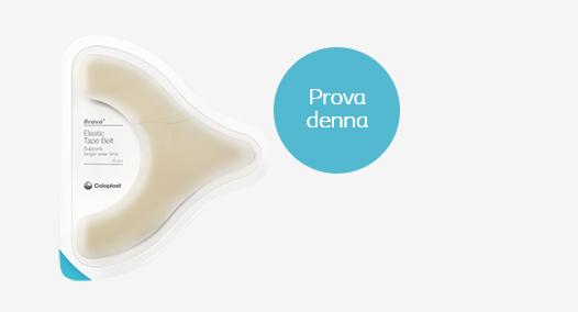 Gratis prov på Brava elastisk tejp (för bråck / stomi)