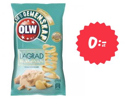 Gratis chips på Matsmart