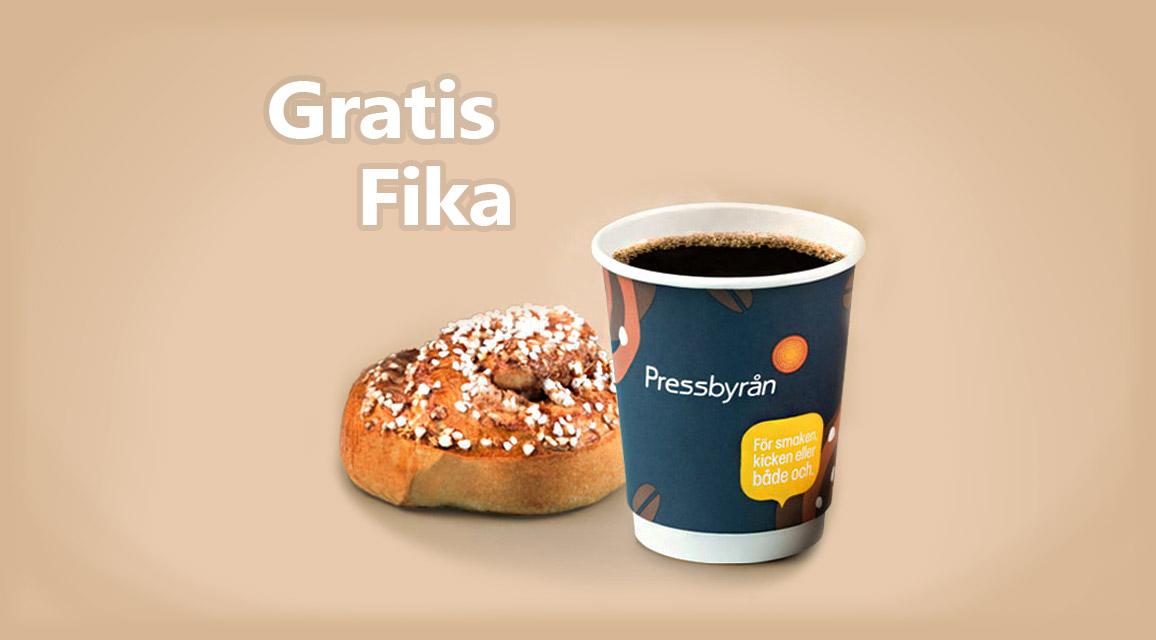Få gratis fika via GratisFikan.se