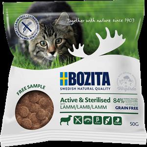 Gratis prov på kattmat från Bozita